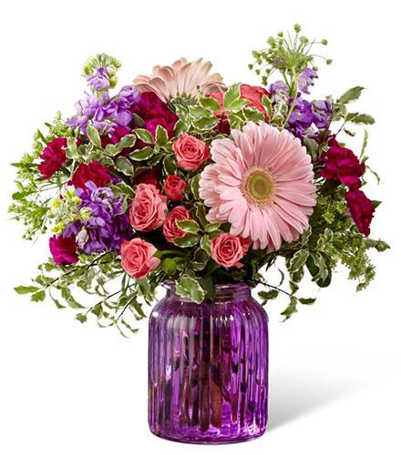 Photo of flowers: Purple Prose Bouquet G11