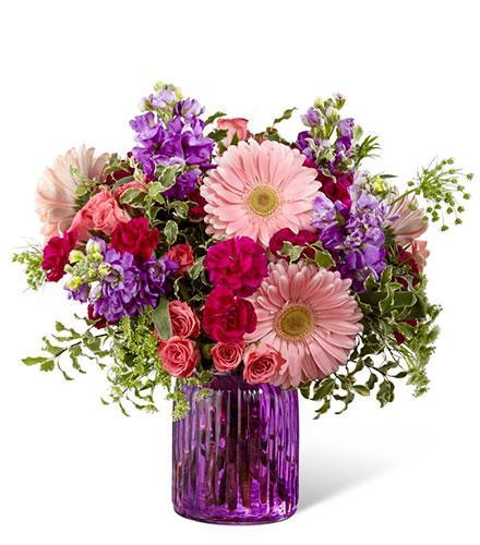 Photo of flowers: Purple Prose Bouquet