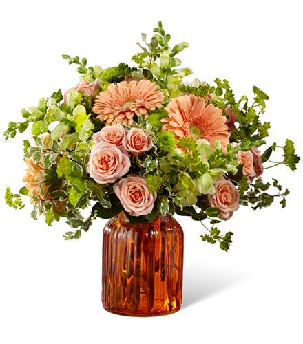 Photo of flowers: Peachy Keen Bouquet