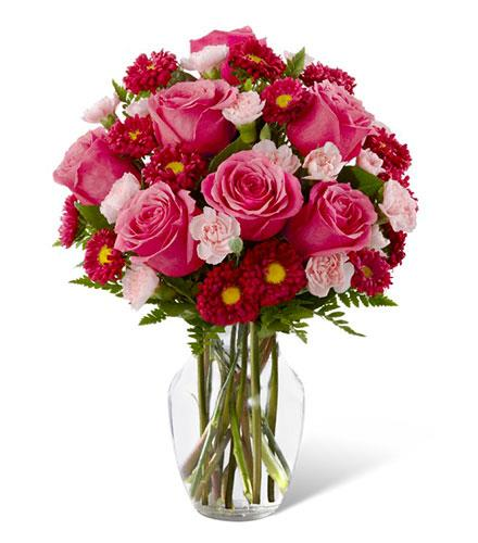 Photo of flowers: The Precious Heart Bouquet
