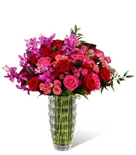 Photo of flowers: Heart's Wishes Luxury Bouquet