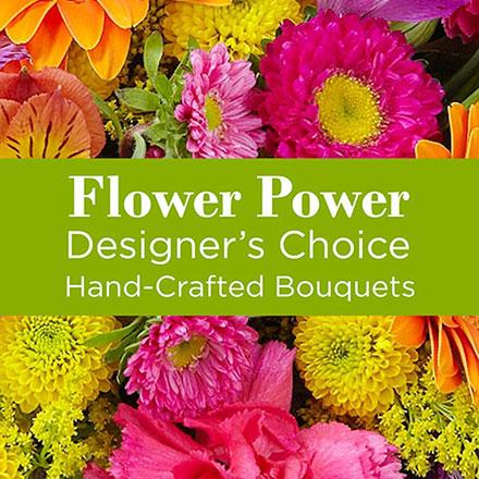 Photo of flowers: Multi Colored Florist Choice in Vase