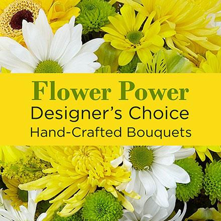 Photo of flowers: Mixed Yellow Florist Designed
