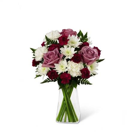 Photo of BF2921/B18B-4947 (11 stems - VASE INCLUDED)