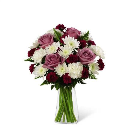 Photo of BF2921/B18B-4947d (15 stems - VASE INCLUDED)