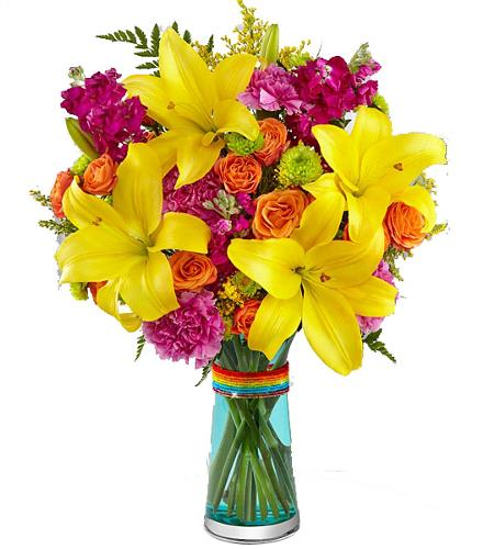 Photo of flowers: The FTD Pick-Me-Up Bouquet
