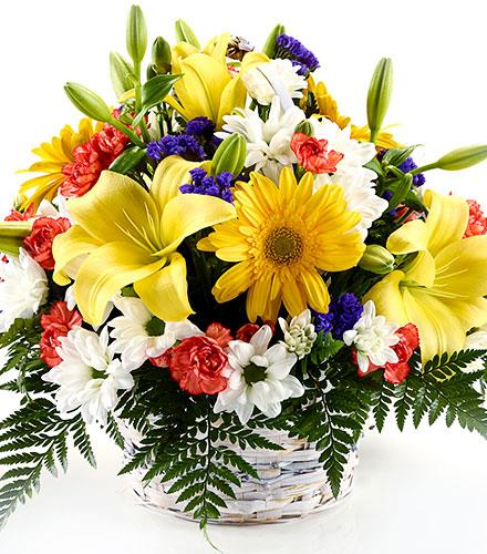 Photo of flowers: Happy Fresh Centerpiece
