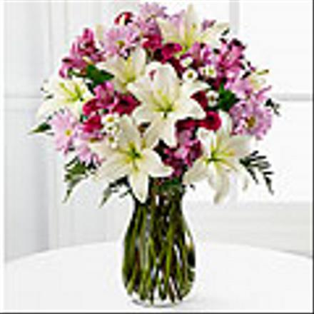 Photo of flowers: Bright Highlights in Vase