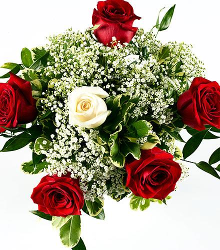 Photo of flowers: Rose Bouquet NO Vase