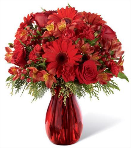 Photo of flowers: Spirit of the Season Bouquet