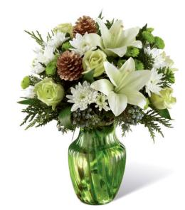 Photo of Holiday Bliss Vase by FTD - B13-5133