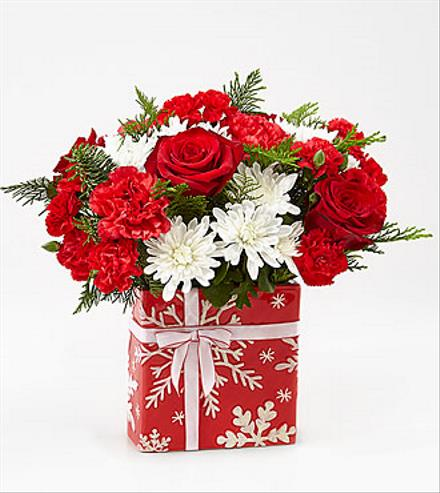 Photo of flowers: Gracious Gift Vase Bouquet 18-C2