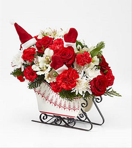 Photo of flowers: Dashing Through the Snow Sleigh 2020