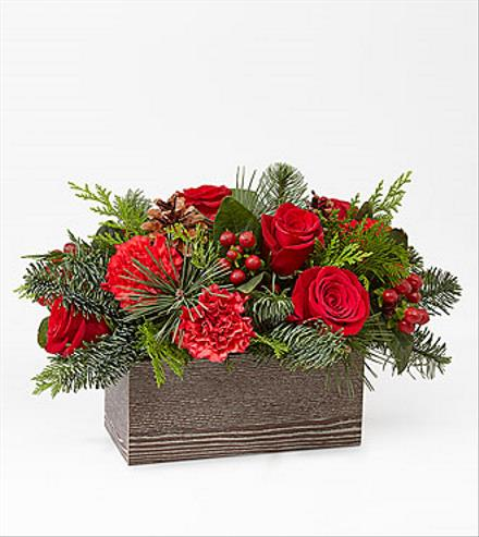 Photo of flowers: Christmas Cabin Bouquet  19-C6
