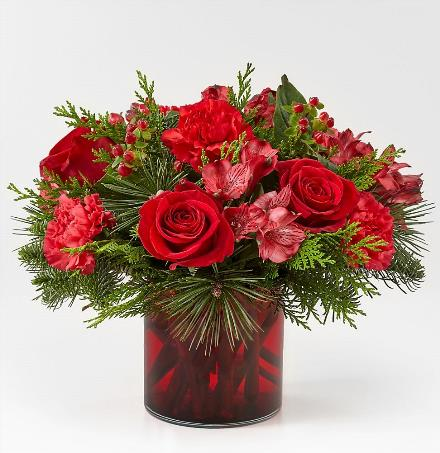 Photo of flowers: Christmas Cabin Bouquet 18-C7
