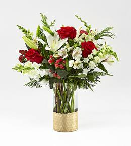 Photo of Holiday Elegance Bouquet FTD 17-C9 - 17-C9