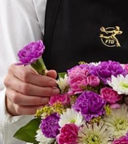 Photo of flowers: Seasonal Cut Flowers Gift Wrapped