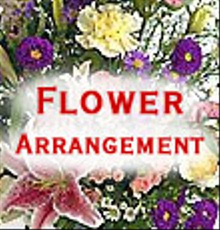 Photo of flowers: Arrangement of Cut Flowers - florist designed