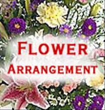 Photo of Arrangement of Cut Flowers - florist designed - IC-ACF