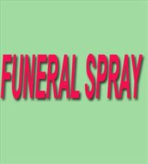 Photo of Funeral Spray Florist Designed - FLA