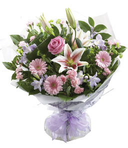 Photo of flowers: Hand-tied Bouquet
