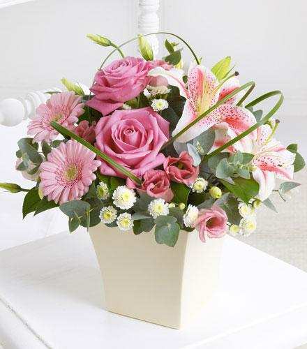 Photo of flowers: Pink Exquisite Arrangement