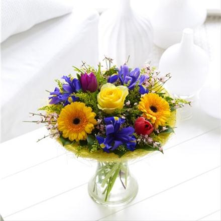 Photo of flowers: Spring Perfect Gift in Vase