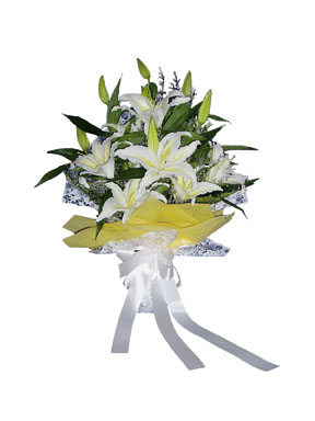 Photo of flowers: Lily Bouquet no Vase