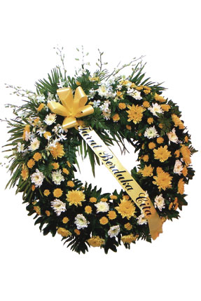 Photo of flowers: Funeral Wreath Large