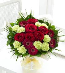 Photo of Majestic Hand-tied No Vase  - 500544