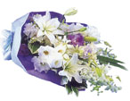 Photo of flowers: Sympathy Bouquet Gift Wrapped