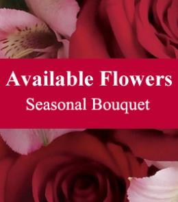 Photo of flowers: Florist Choice Includes Roses