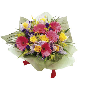 Photo of flowers: Bouquet of Mixed Cut Flowers