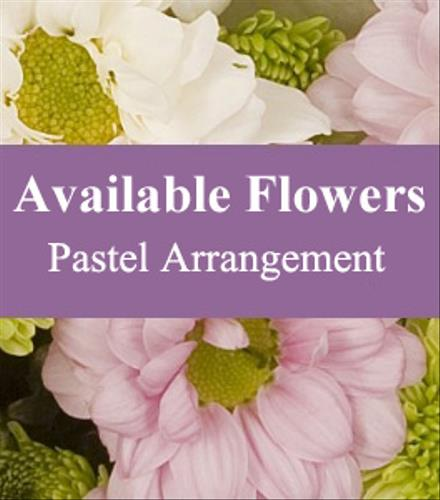 Photo of flowers: Florist Choice Pastel Arrangement