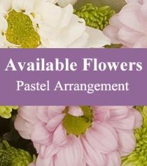 Photo of Florist Choice Pastel Arrangement - BF3756