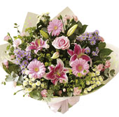 Photo of flowers: Mother's Day Hand-tied
