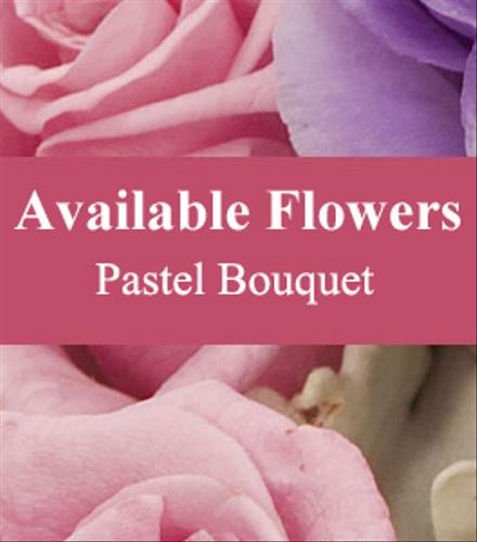 Photo of flowers: Florist Choice Pastel Bouquet