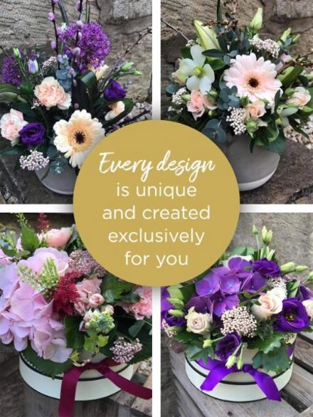 Photo of flowers: Florist Choice Arrangement Color Choice