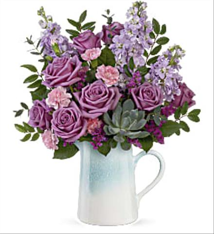 Photo of flowers: Heart Stone Bouquet