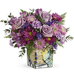 Photo of flowers: Shades Of Lavender Bouquet