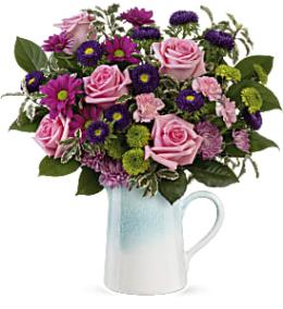Photo of flowers: Artisanal Blush Bouquet