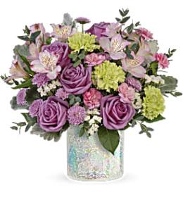 Photo of flowers: Sparkle And Bloom Bouquet