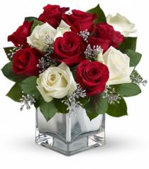 Photo of Snowy Night Rose Bouquet Teleflora - T407-2
