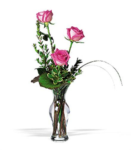 Photo of flowers: Roses in Vase 3, 5, or 7