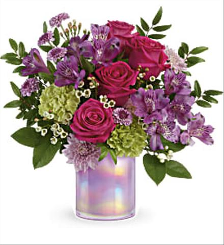 Photo of flowers: Art Glass Garden Bouquet T19E300