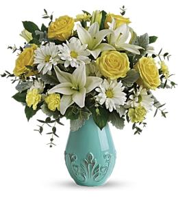 Photo of flowers: Aqua Dream Bouquet T19E100