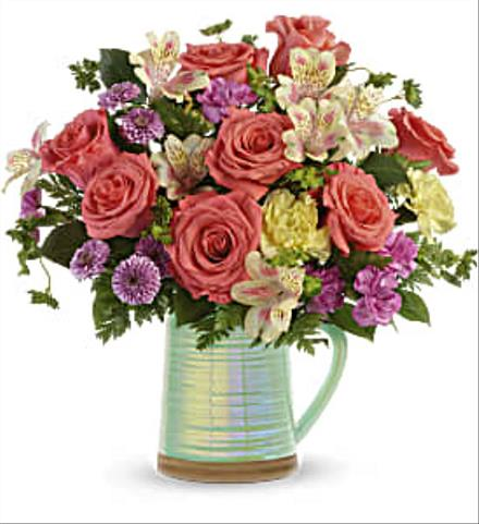 Photo of flowers: Pour on the Beauty Bouquet
