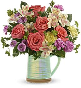Photo of flowers: Sapphire Garden Bouquet T19E200