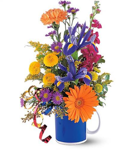 Photo of flowers: Flowers in a Mug