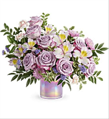 Photo of flowers: Shimmering Spring Bouquet